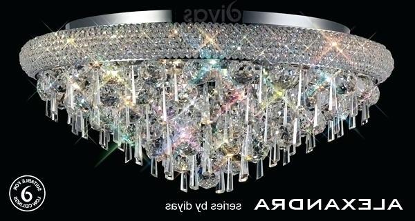 Well Known Glamorous 9 Light Crystal Chandelier Sefield Loke Buckingham Inside Mcknight 9 Light Chandeliers (View 22 of 25)