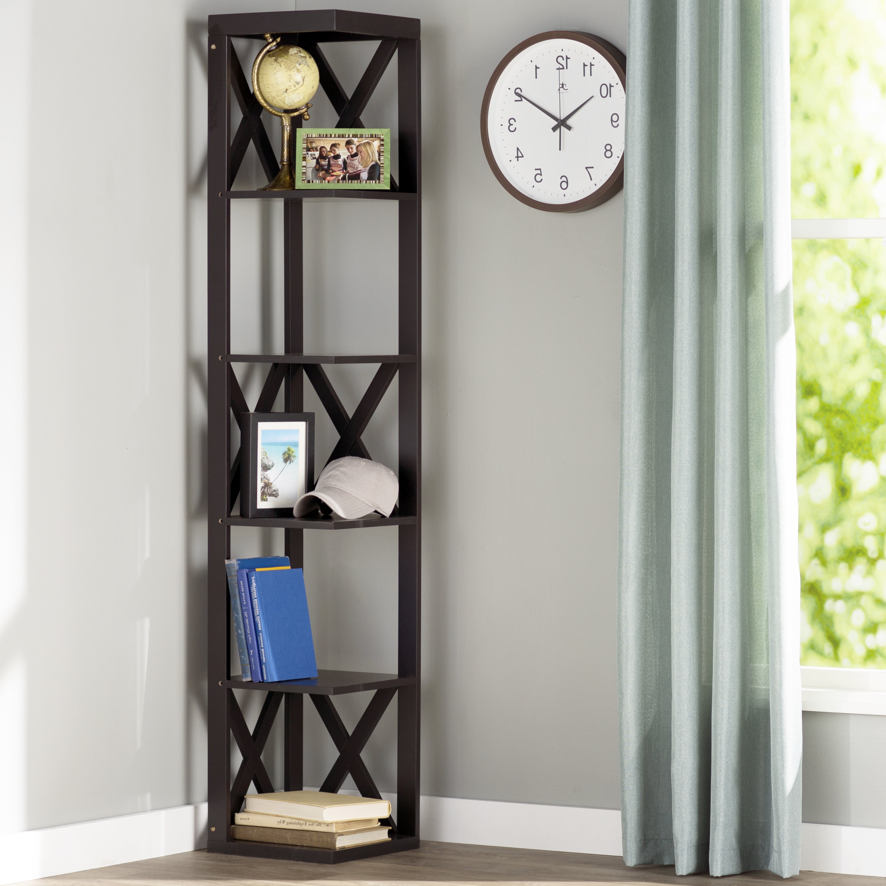 Featured Photo of Hattie Corner Bookcases