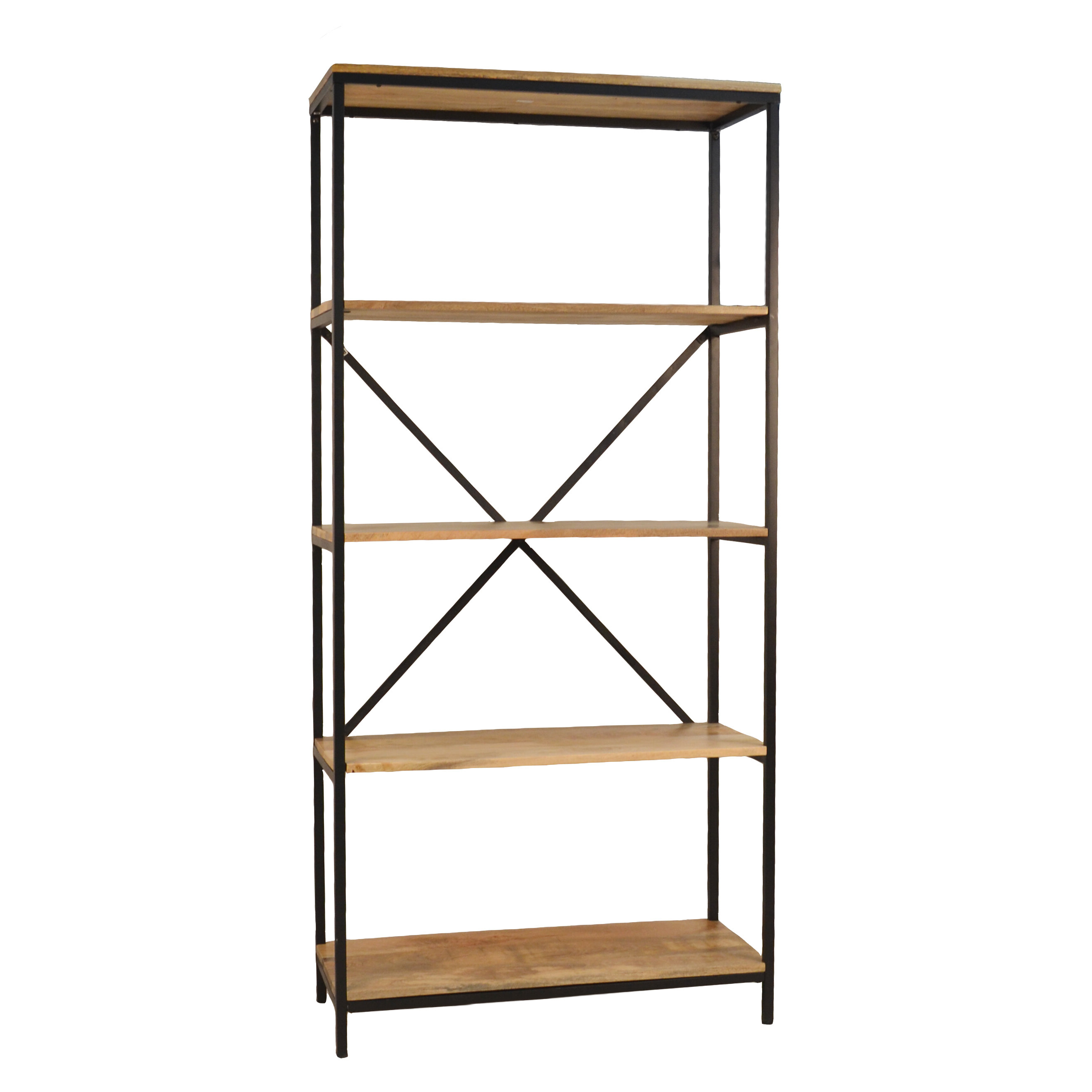 Well Known Hera Etagere Bookcases Inside Defranco Etagere Bookcase (View 18 of 20)