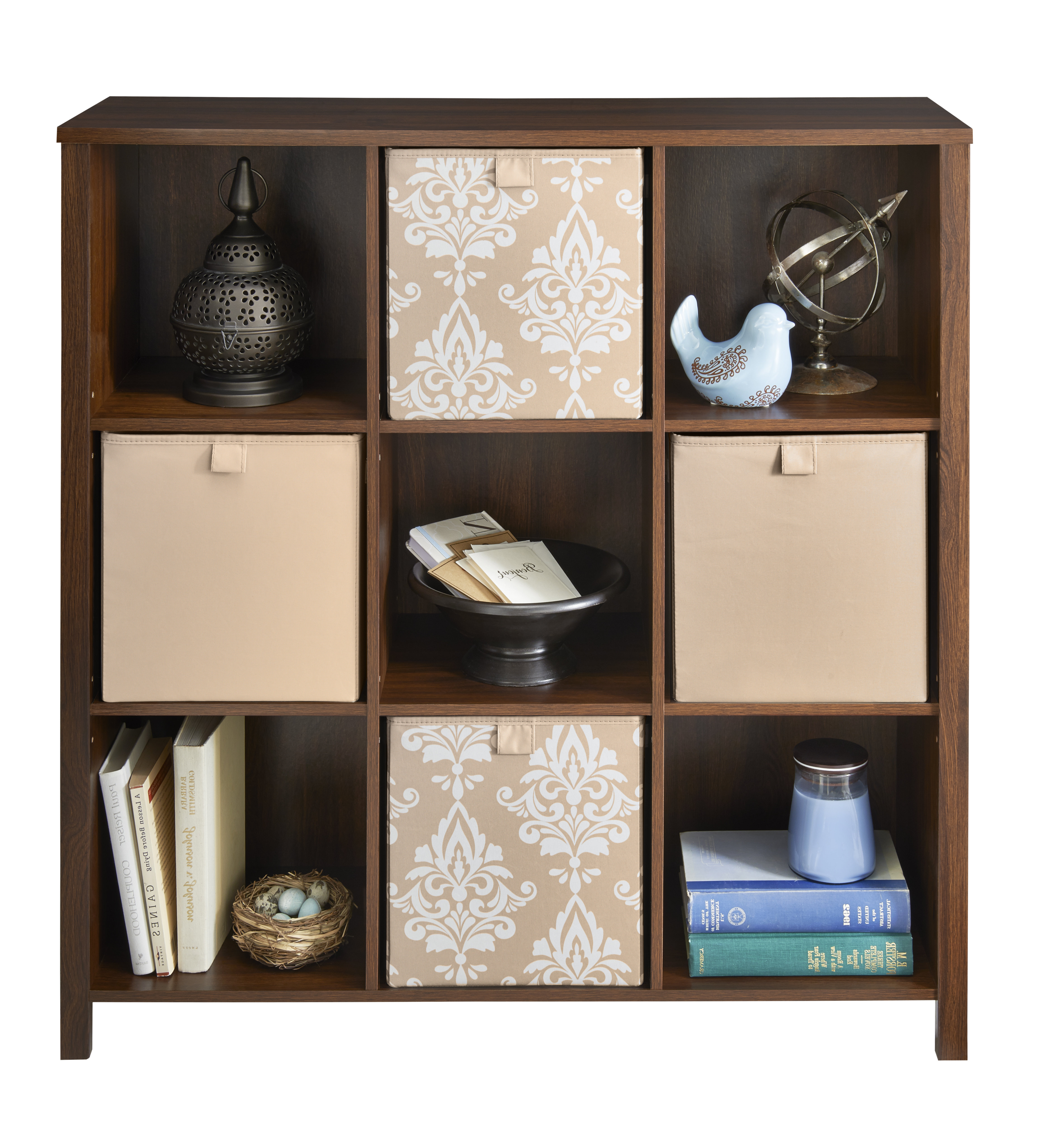 Well Known Karlie Cube Unit Bookcases Throughout Closetmaid Premium Adjustable 9 Cube Unit Bookcase (View 19 of 20)