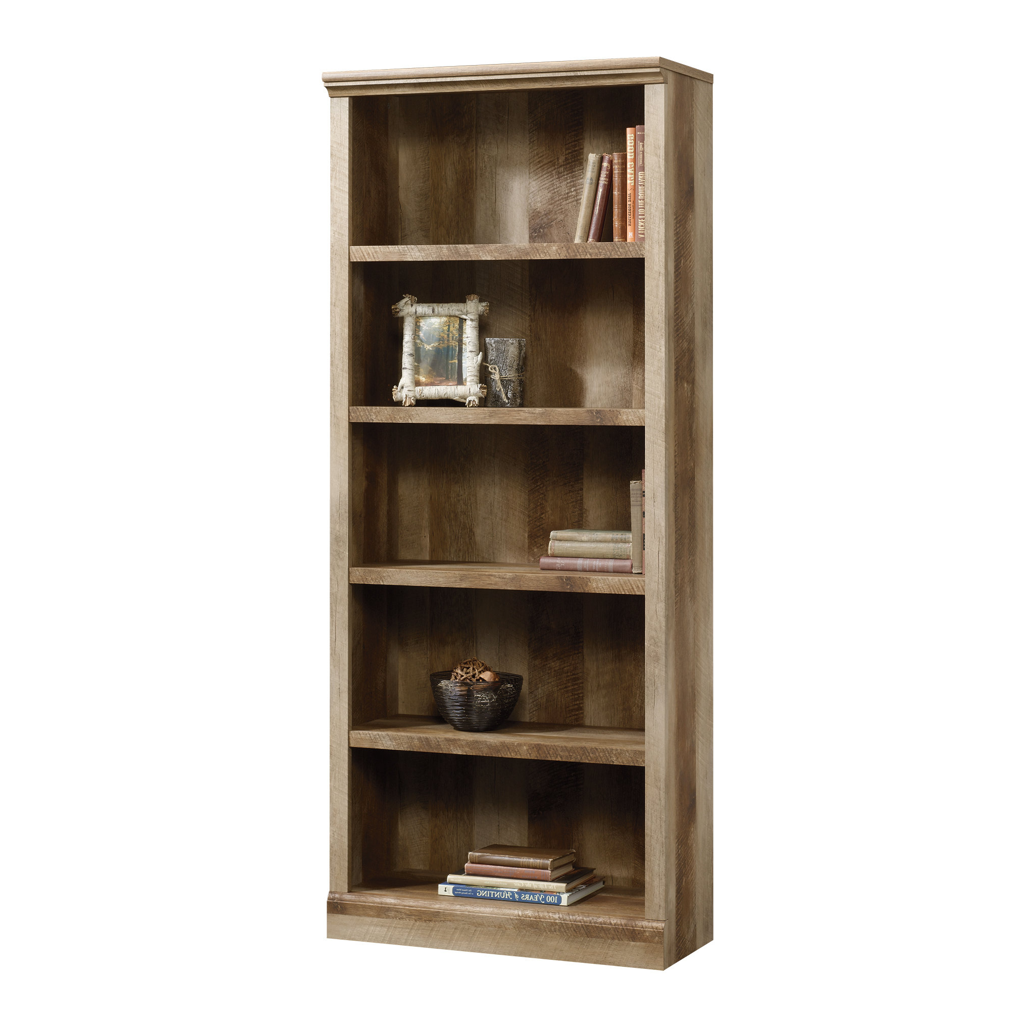 Well Known Kayli Standard Bookcase With Kayli Standard Bookcases (View 2 of 20)