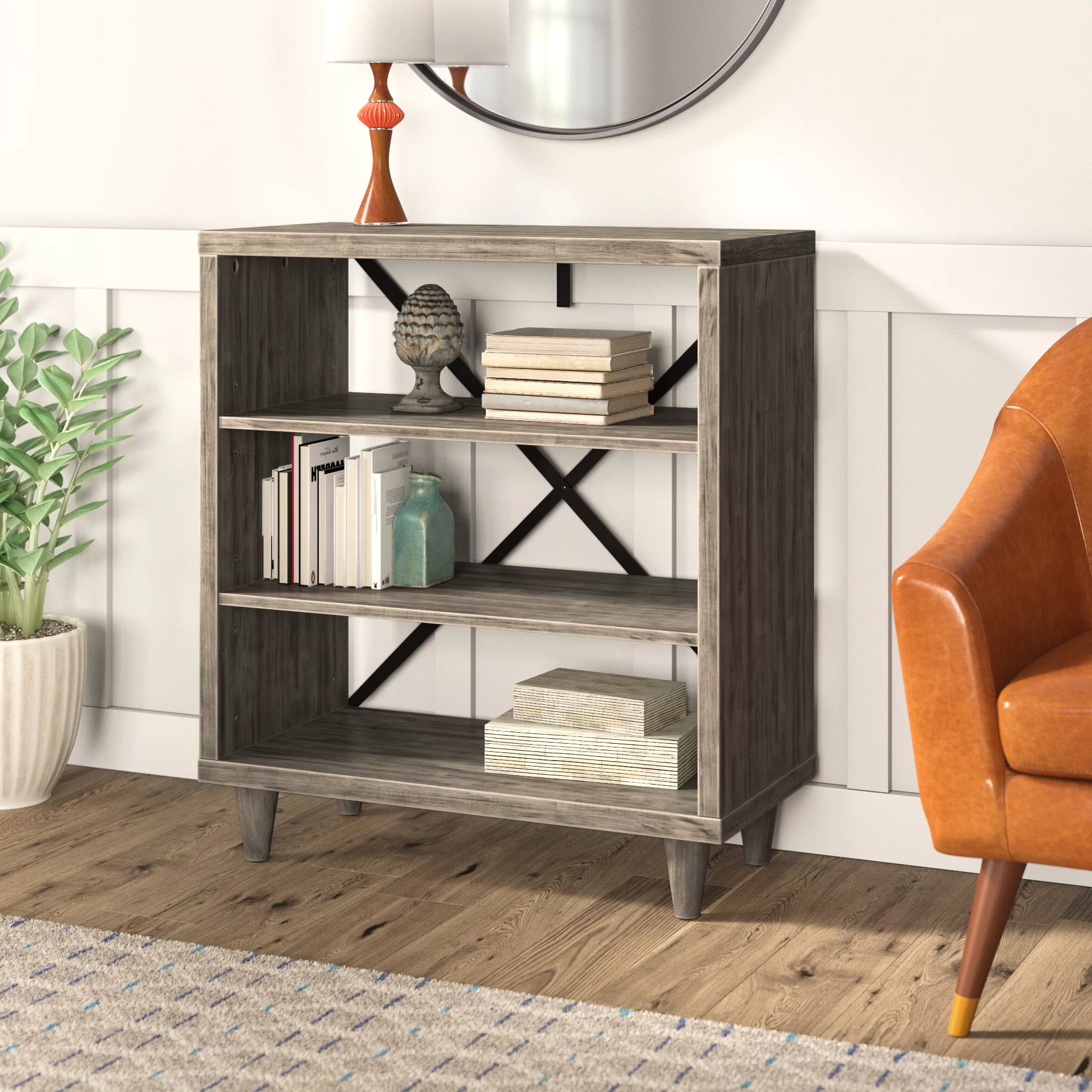 Well Known Laguna Standard Bookcase Intended For Kronqui Standard Bookcases (View 18 of 20)