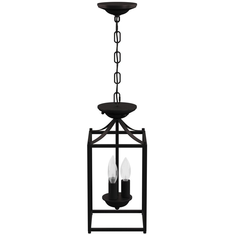 Well Known Leiters 3 Light Lantern Geometric Pendants Pertaining To Barryton 3 Light Lantern Square Pendant (View 22 of 25)
