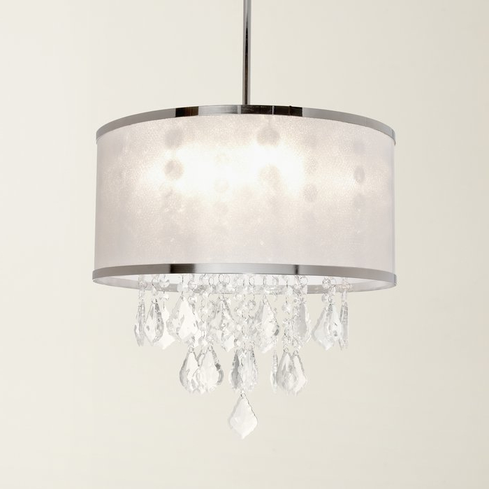 Well Known Lindsey 4 Light Drum Chandeliers In Lindsey 4 Light Drum Chandelier (View 25 of 25)
