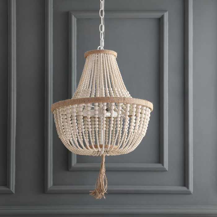 Well Known Lyon 3 Light Unique / Statement Chandelier With Regard To Nehemiah 3 Light Empire Chandeliers (Gallery 14 of 25)