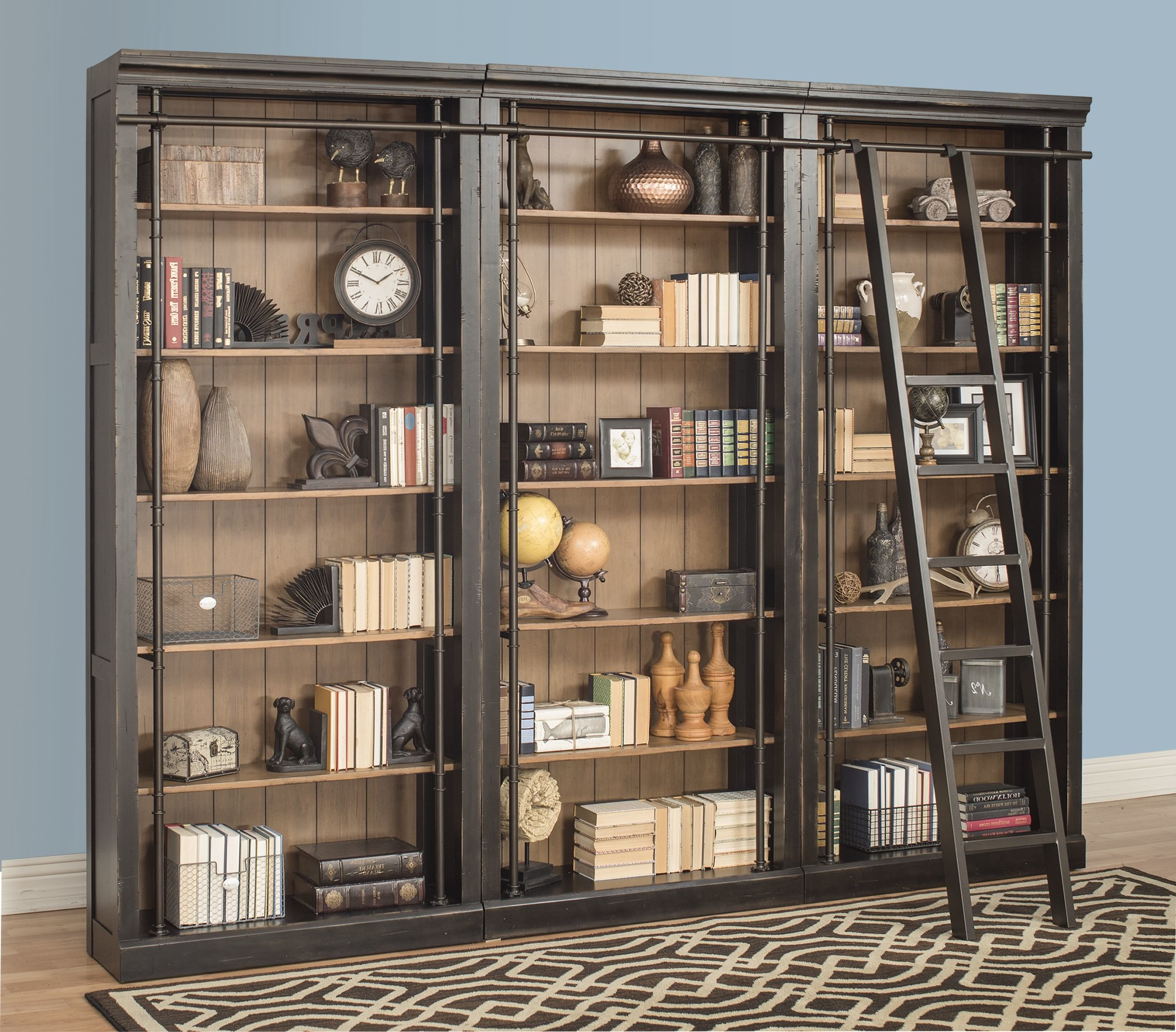 Well Known Marilee Library Bookcase With Marilee Library Bookcases (View 17 of 20)