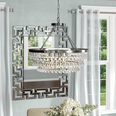 Well Known Mcknight 9 Light Chandeliers For Lolaus 3 Light Globe Chandelier (View 23 of 25)