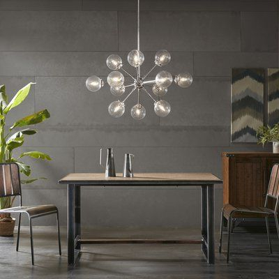 Well Known Modern Rustic Interiors Asher 12 Light Sputnik Chandelier In Pertaining To Asher 12 Light Sputnik Chandeliers (View 24 of 25)