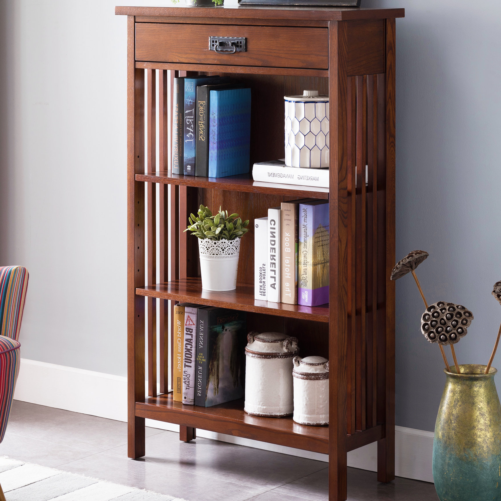Well Known Moeller Standard Bookcases With Regard To Beachley Standard Bookcase (View 5 of 20)