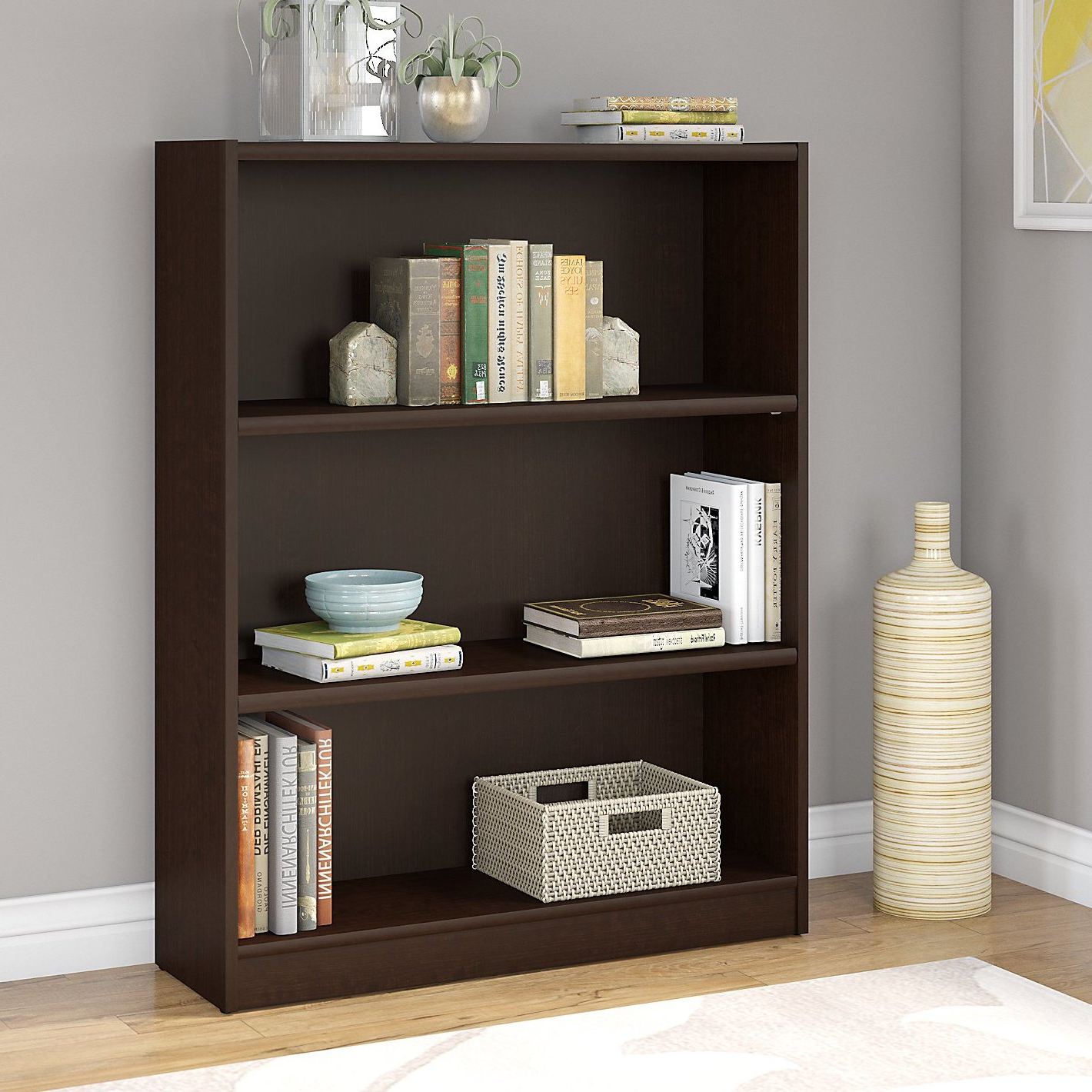 Well Known Morrell Standard Bookcases Throughout Kirkbride Standard Bookcase (View 20 of 20)