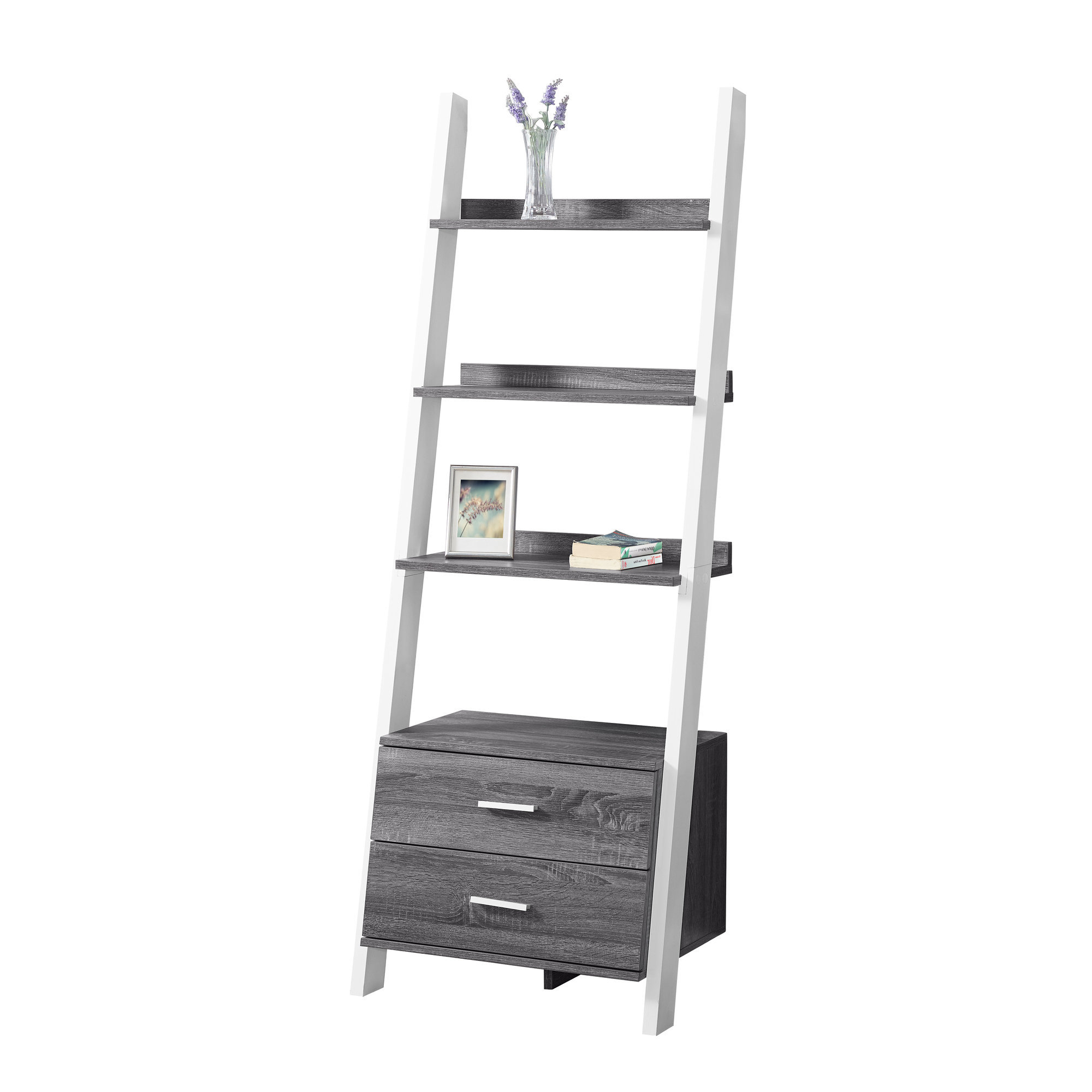 Well Known Nailsworth Ladder Bookcases Within Monterra Ladder Bookcase (View 20 of 20)