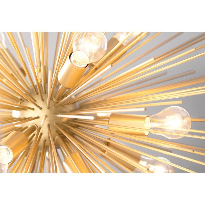Well Known Nelly 12 Light Sputnik Chandelier Intended For Nelly 12 Light Sputnik Chandeliers (View 6 of 25)