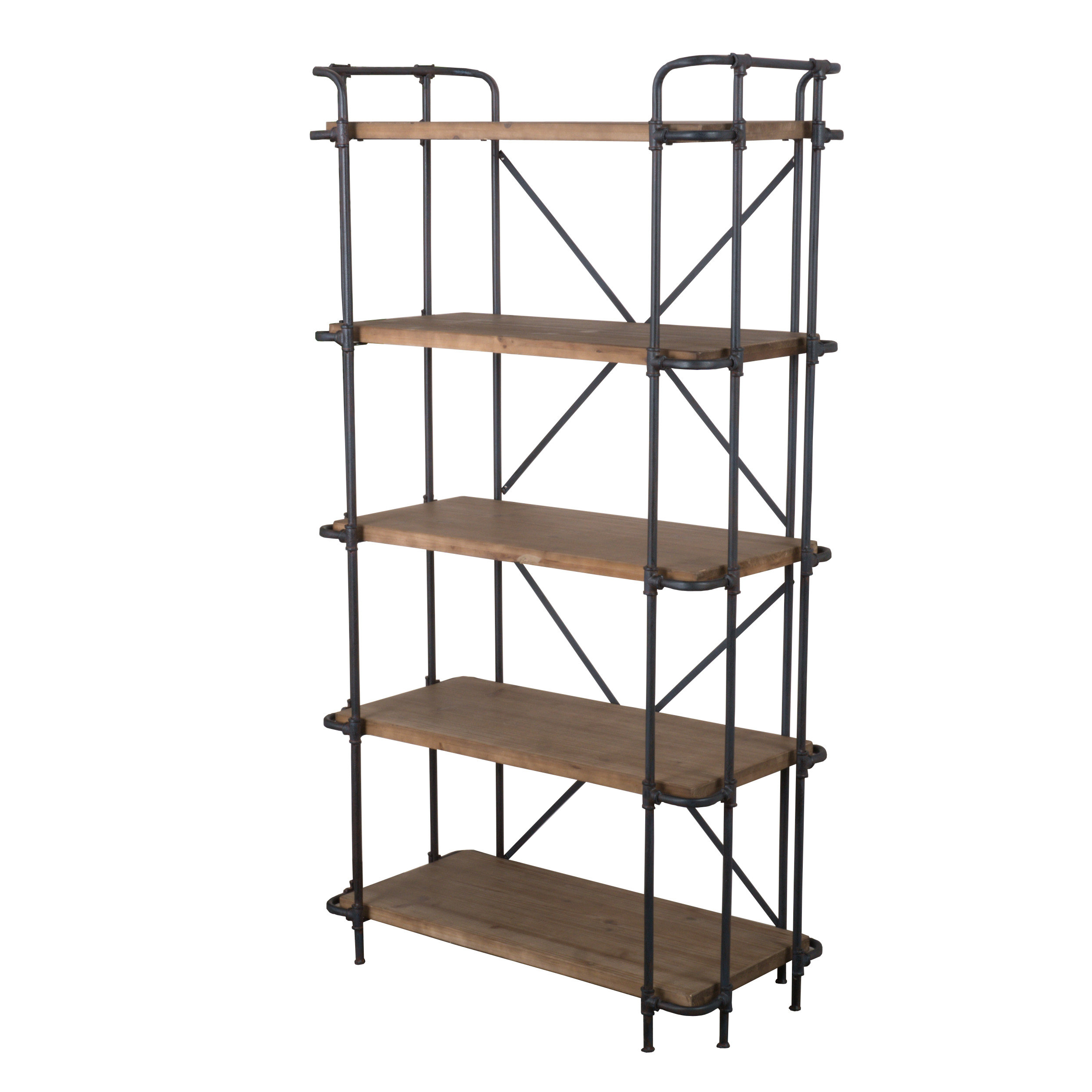 Well Known Oakside Etagere Bookcases Inside Ebba Etagere Bookcase (View 11 of 20)