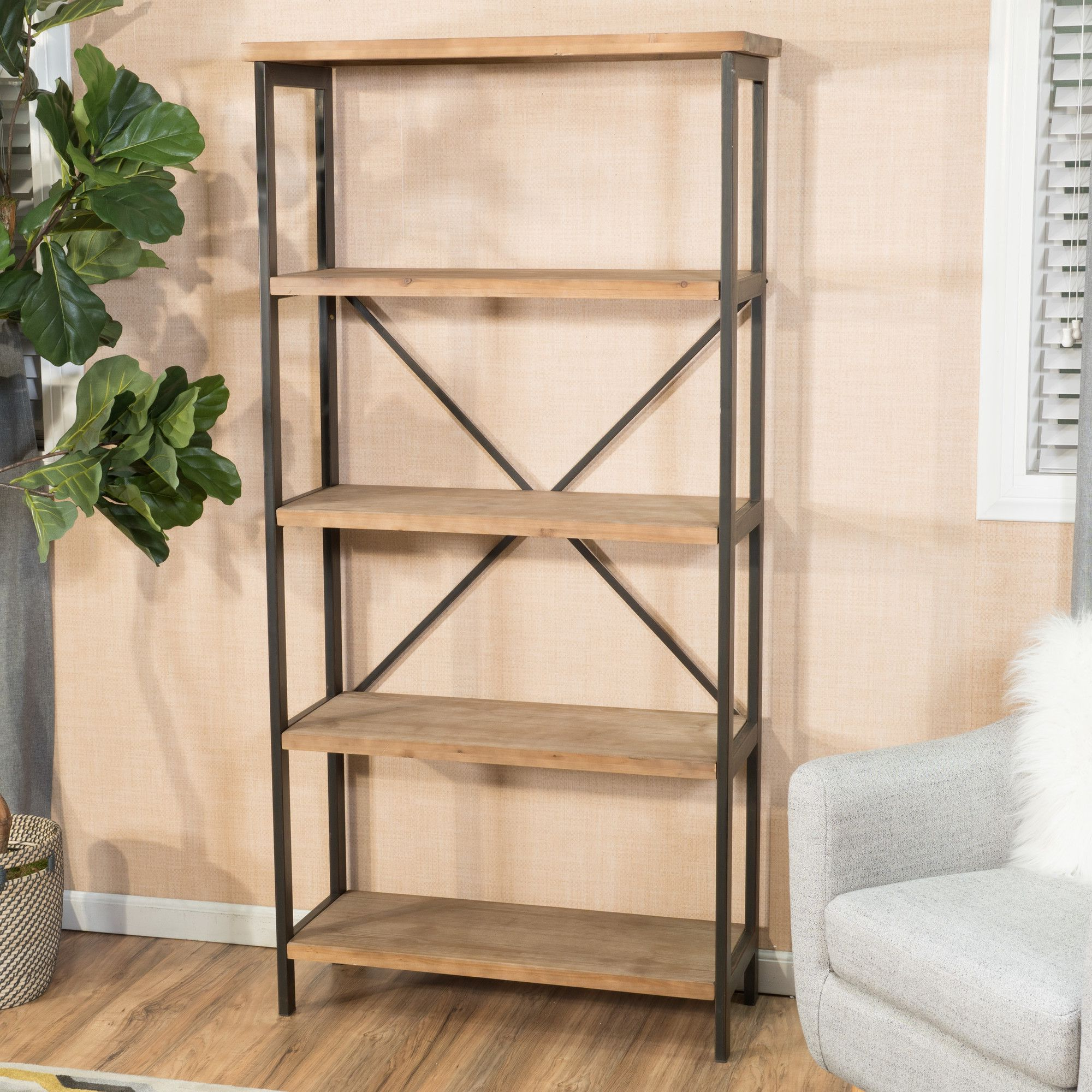 Well Known Parthenia Etagere Bookcases For Parthenia Etagere Bookcase (View 19 of 20)