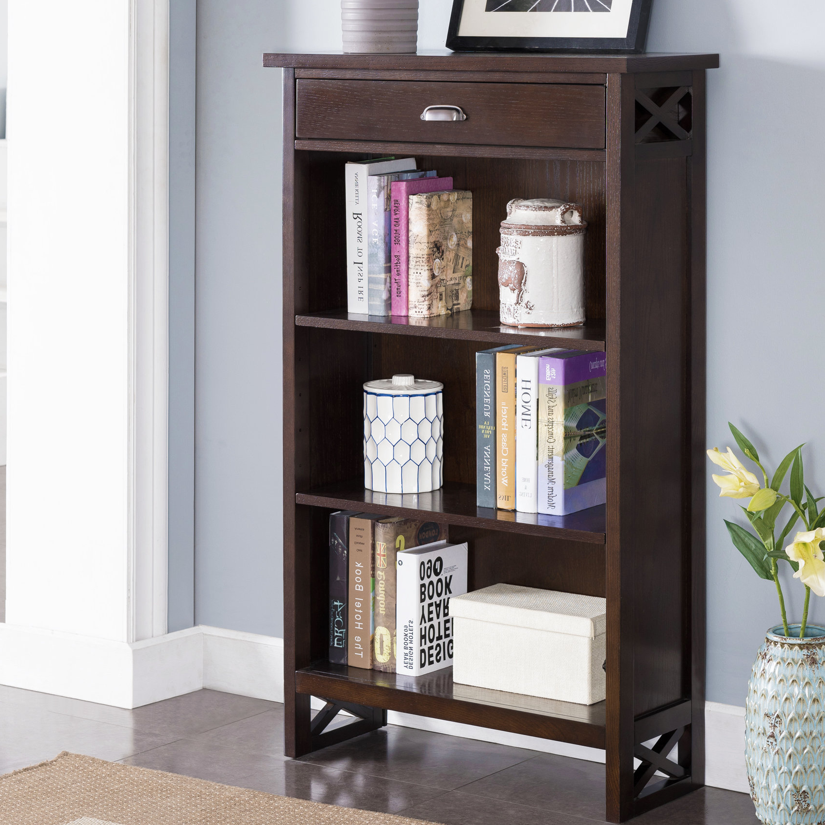 Well Known Pinellas Standard Bookcases In Chenoweth Standard Bookcase (View 17 of 20)