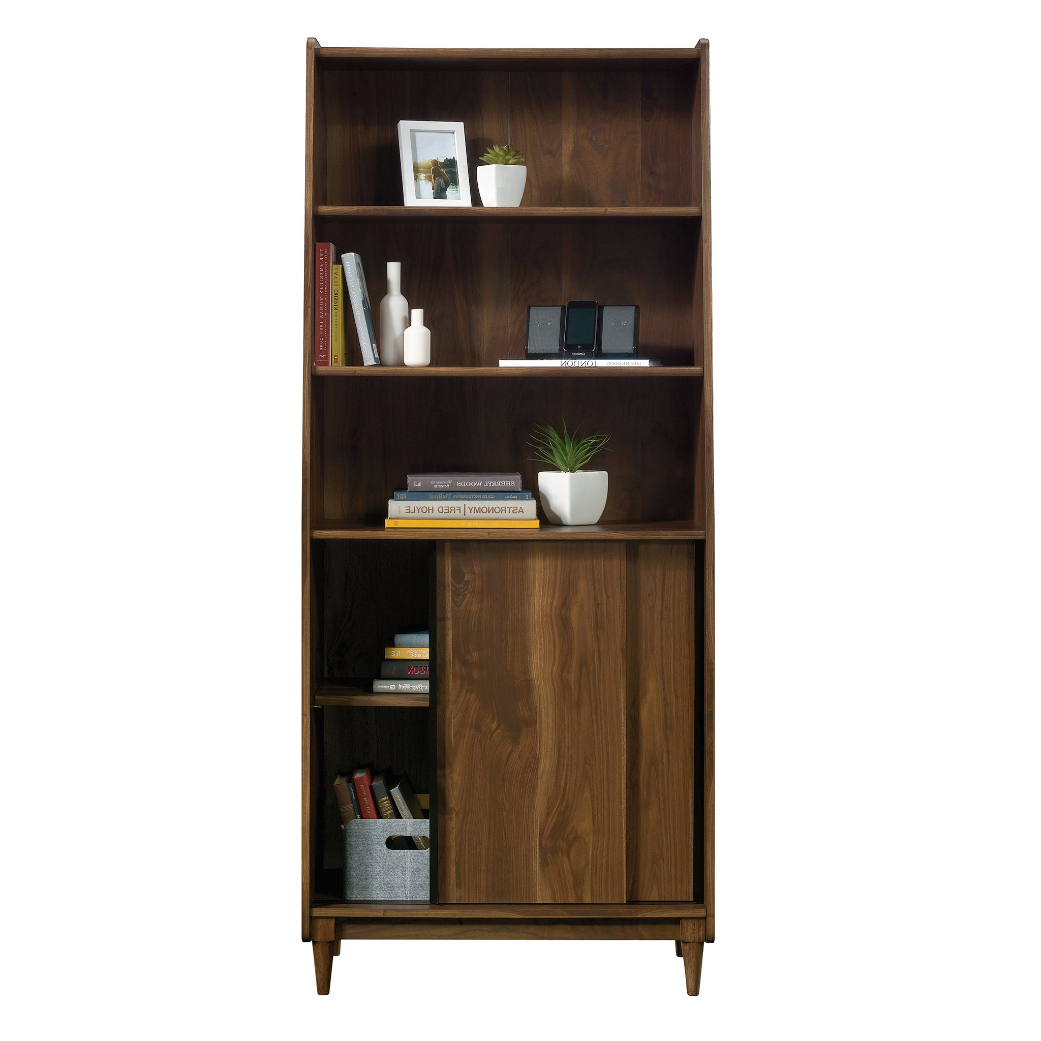 Well Known Posner Standard Bookcase In Standard Bookcases (View 16 of 20)