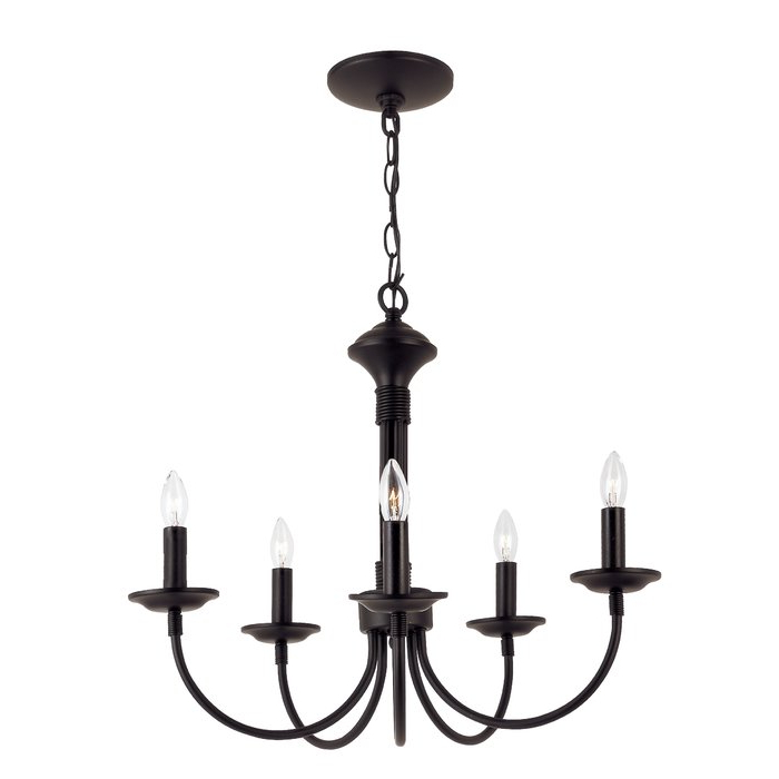 Well Known Shaylee 5 Light Candle Style Chandeliers With Shaylee 5 Light Candle Style Chandelier (View 24 of 25)