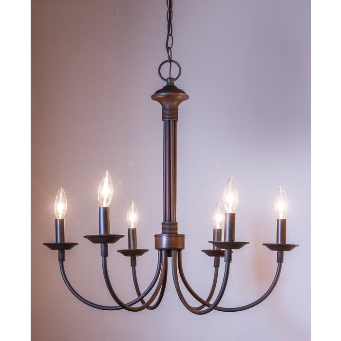 Well Known Shaylee 6 Light Candle Style Chandelier Regarding Shaylee 5 Light Candle Style Chandeliers (View 25 of 25)