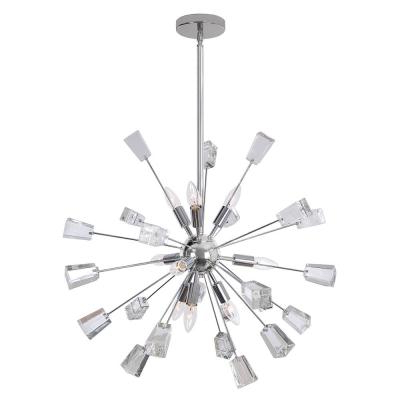 Well Known Sputnik – Chandeliers – Lighting – The Home Depot Intended For Bautista 5 Light Sputnik Chandeliers (View 24 of 25)
