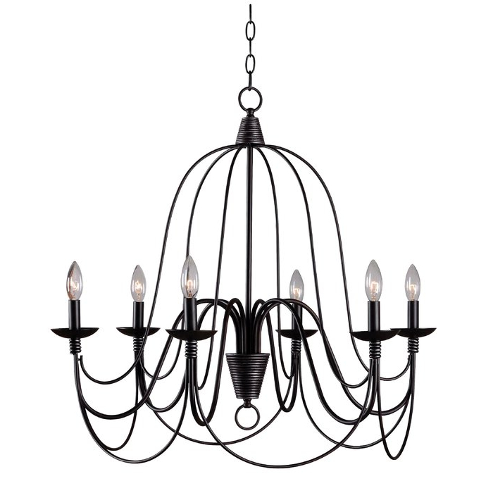Well Known Watford 6 Light Candle Style Chandeliers In Watford 6 Light Candle Style Chandelier (View 24 of 25)