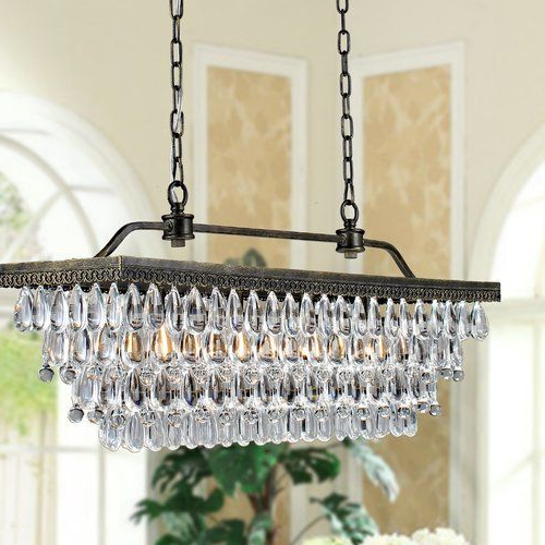Well Known Whitten 4 Light Crystal Chandelier (View 3 of 25)
