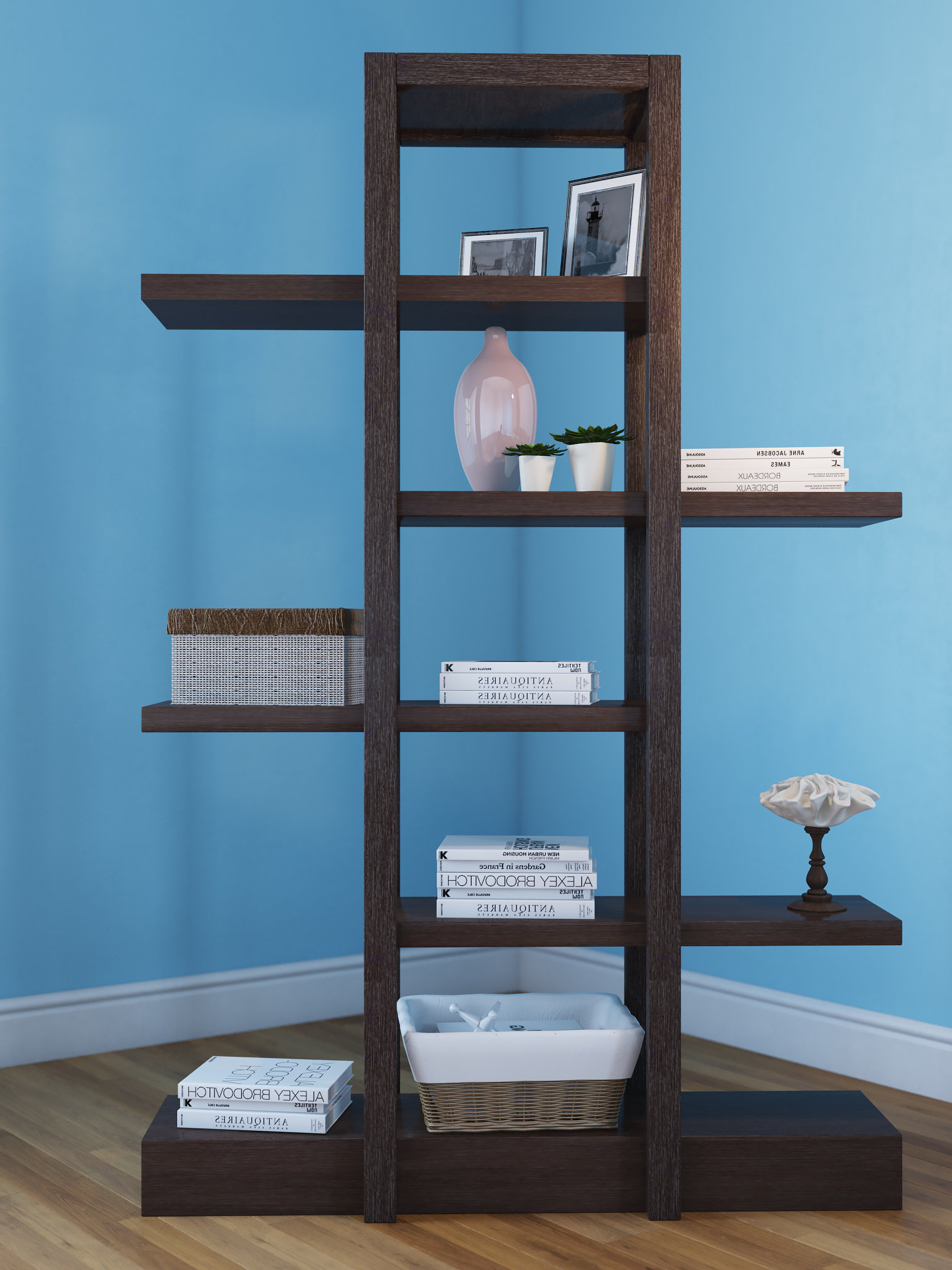 Well Known Woodcrest Etagere Bookcases For Latitude Run Carthage Etagere Bookcase (View 18 of 20)