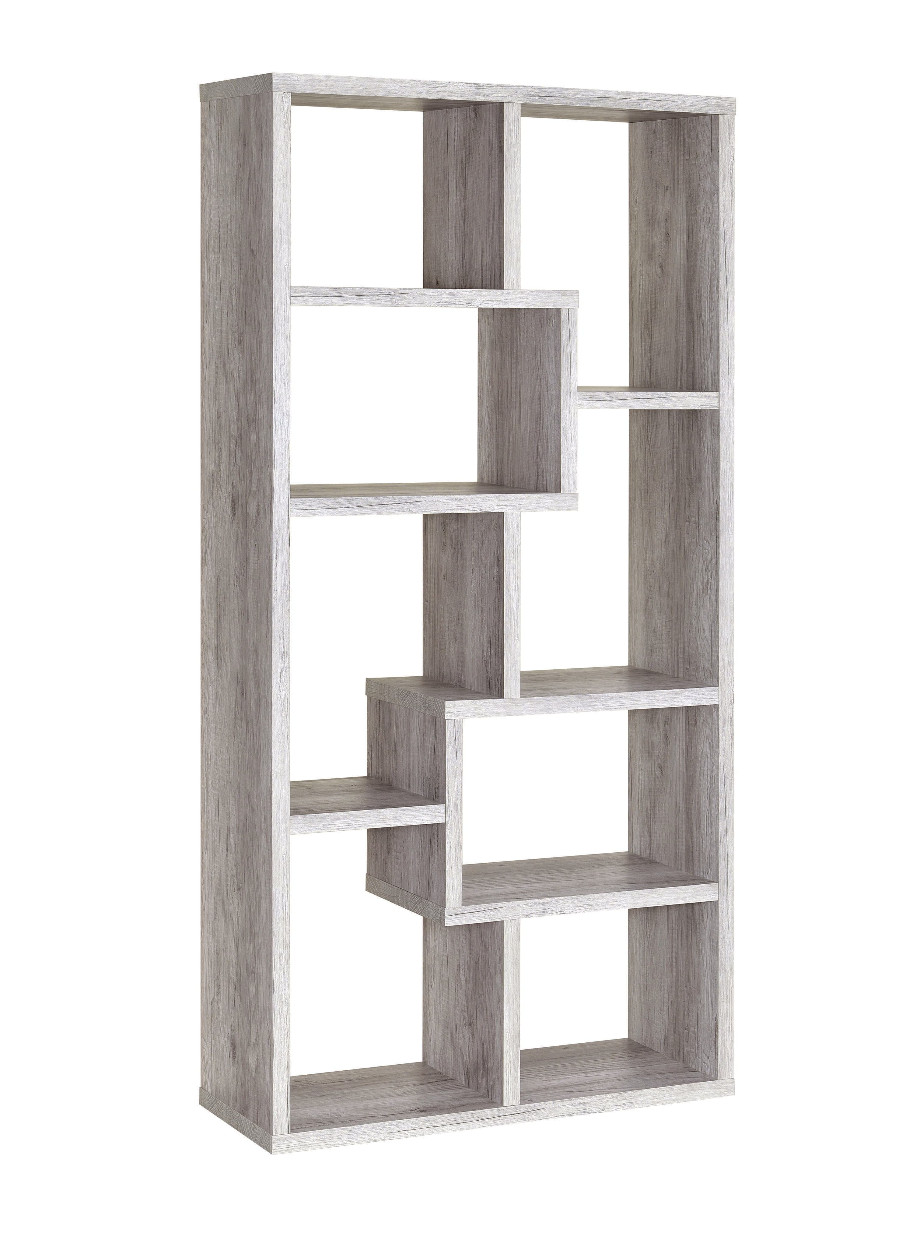 Well Known Wrought Studio Harkless Geometric Bookcase In Swarey Geometric Bookcases (View 19 of 20)