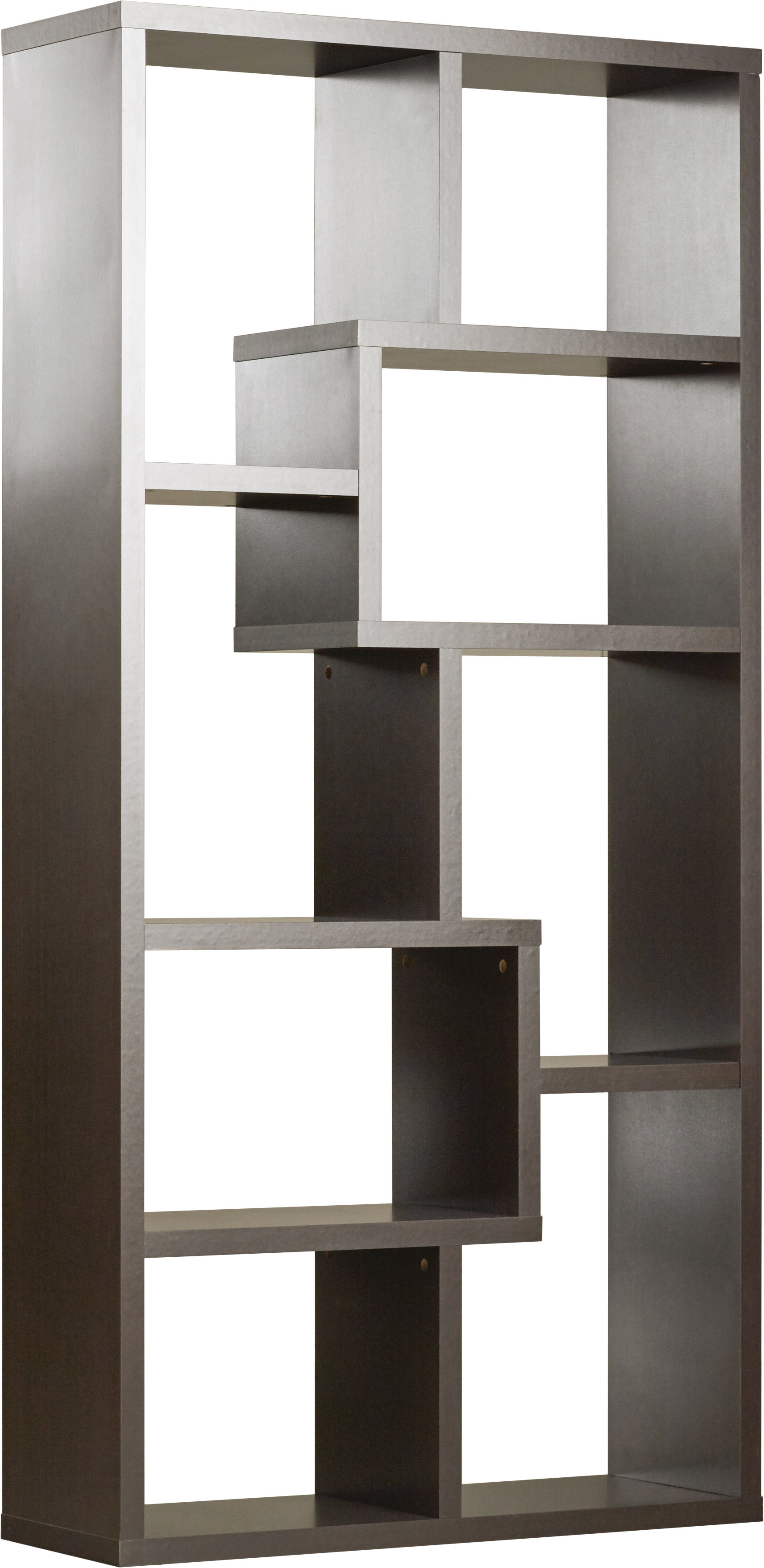 Well Liked Ansley Geometric Bookcases Pertaining To Brayden Studio Ansley Geometric Bookcase (View 19 of 20)