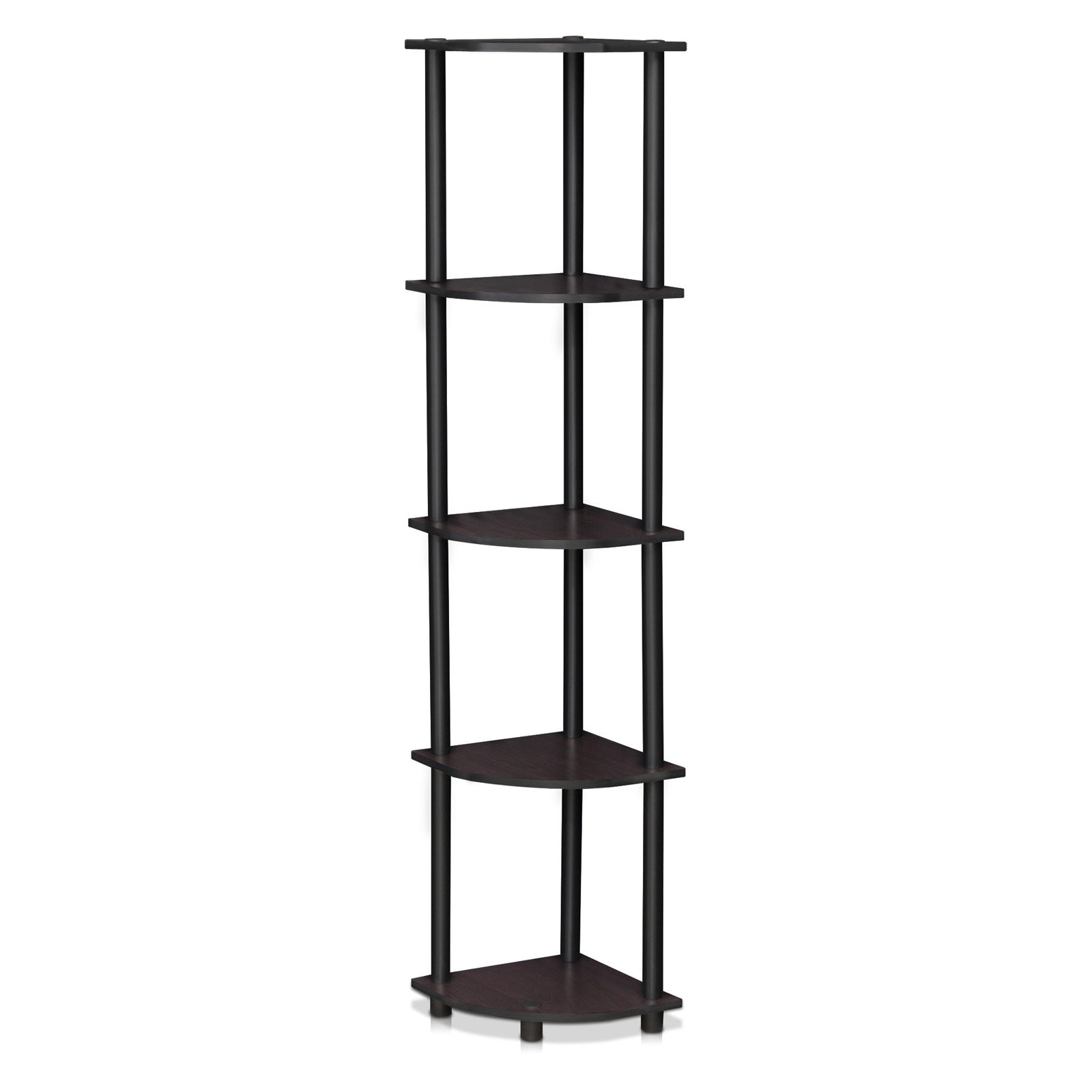 Well Liked Johannes Corner Bookcases Within Furinno Turn N Tube Corner 5 Tier Bookcase In (View 20 of 20)