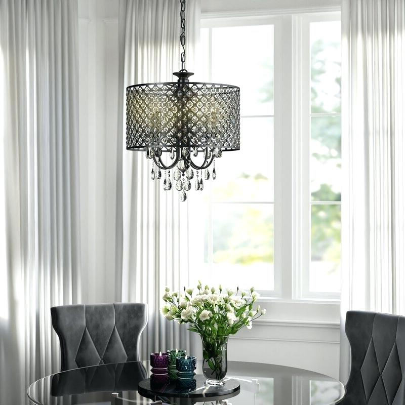 Well Liked Mckamey 4 Light Crystal Chandeliers Regarding Make A Crystal Chandelier – Carmonwhitelaw (View 11 of 25)