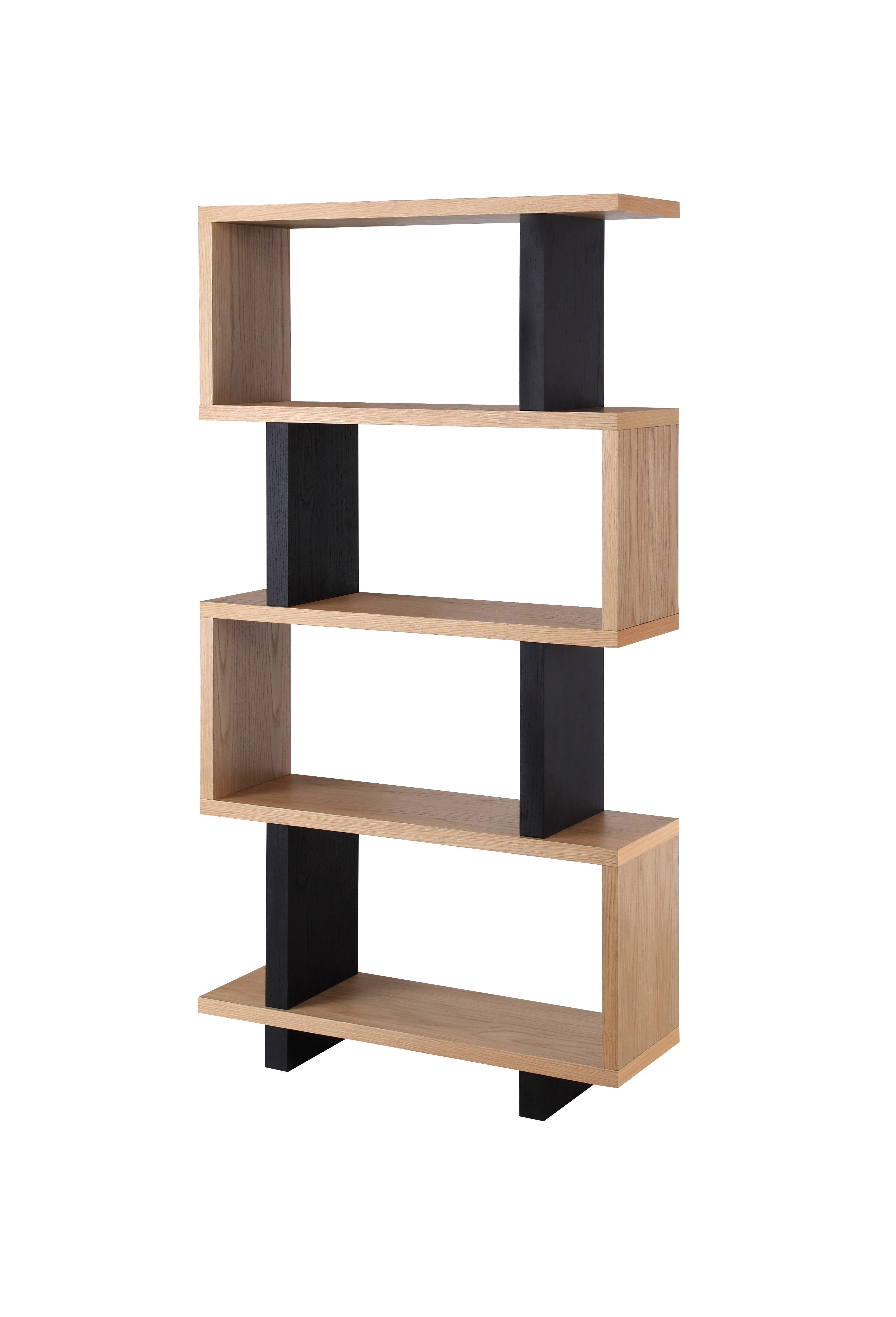 Well Liked Paulus Standard Bookcase (View 12 of 20)