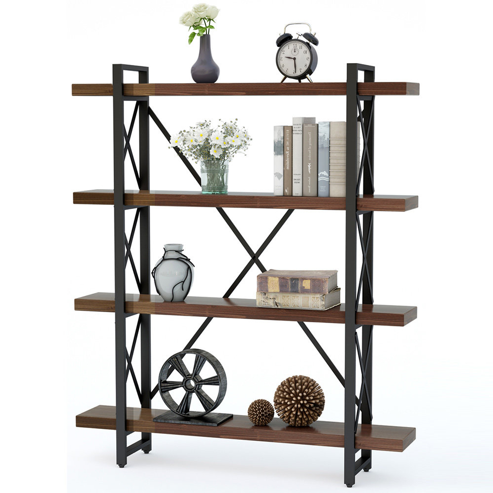 Widely Used Babbitt Etagere Bookcase For Cifuentes Dual Etagere Bookcases (View 15 of 20)