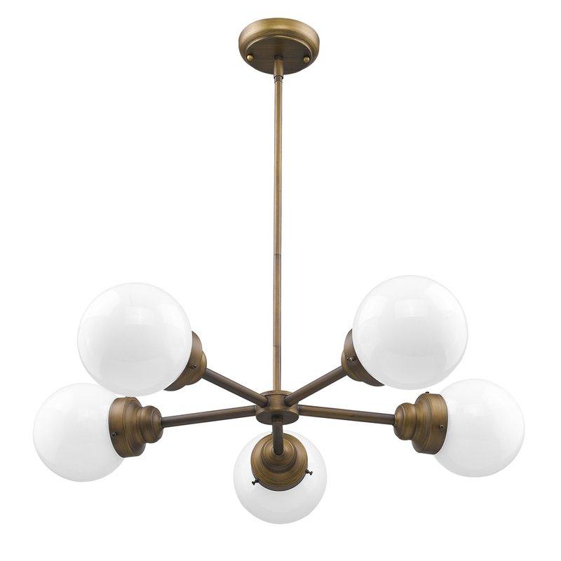 Widely Used Bautista 5 Light Sputnik Chandeliers Inside Rabehi 5 Light Sputnik Chandelier (View 25 of 25)