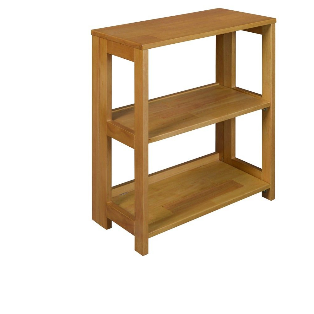 """Widely Used Belue Standard Bookcases Pertaining To Flip Flop 28"""" High Deskside Folding Bookcase Cherry – Niche (View 20 of 20)"""