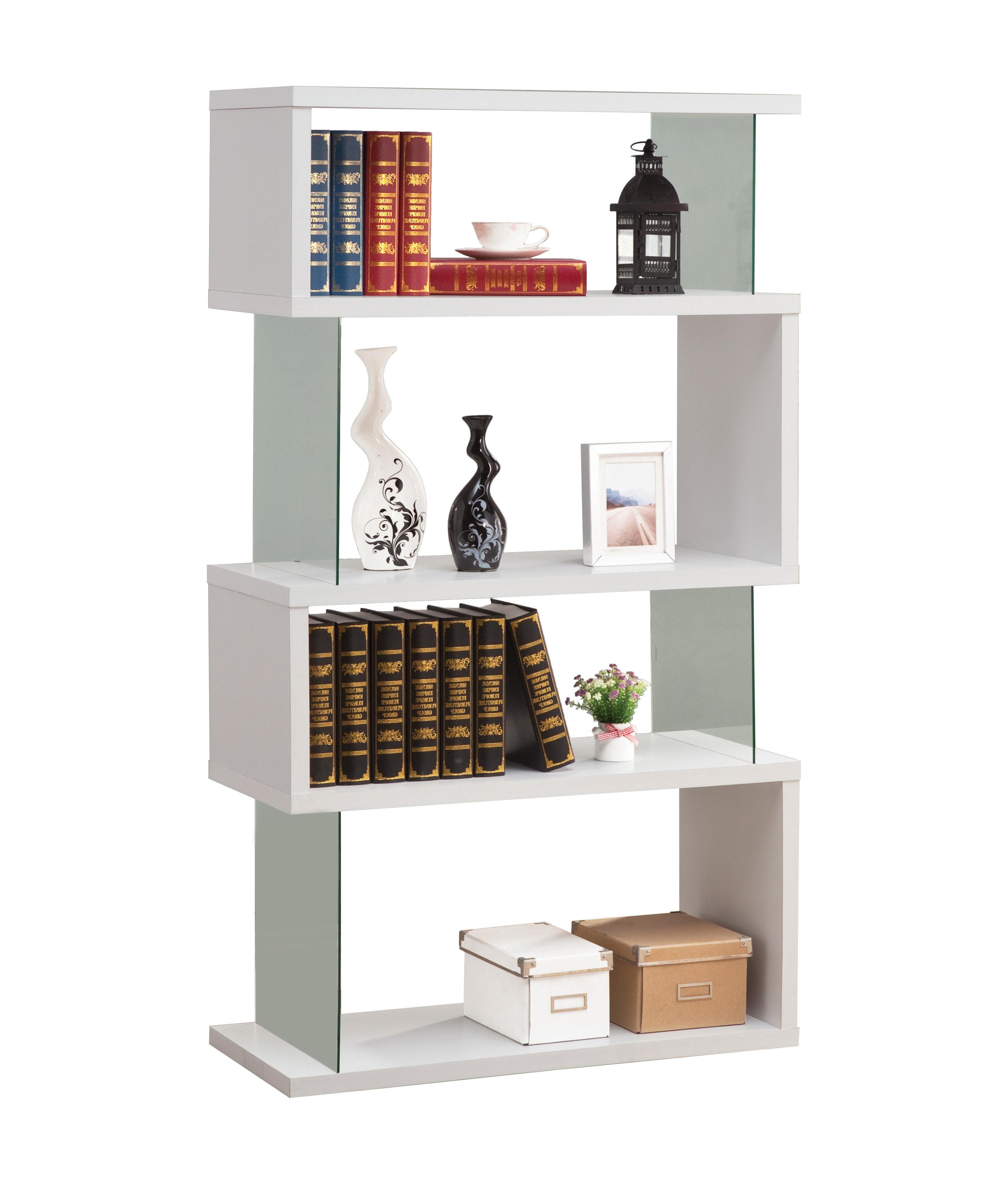 Widely Used Brayden Studio Ignacio Standard Bookcase With Ignacio Standard Bookcases (View 19 of 20)