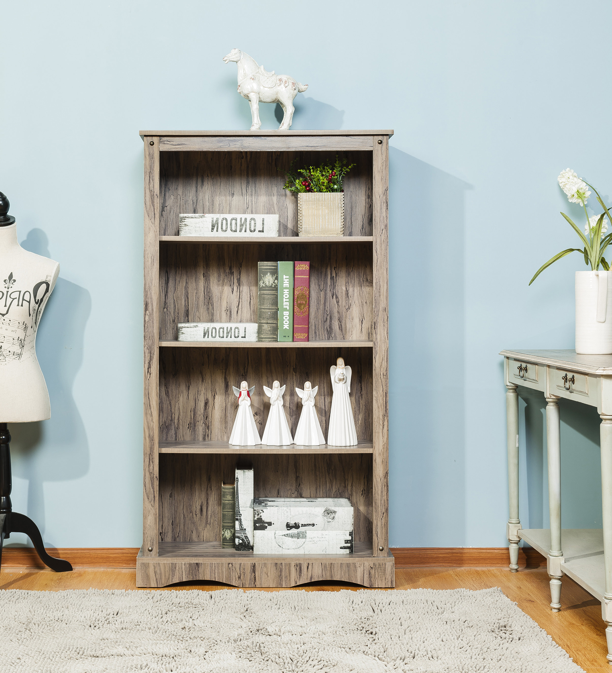 Widely Used Brents Standard Bookcase With Zack Standard Bookcases (View 16 of 20)