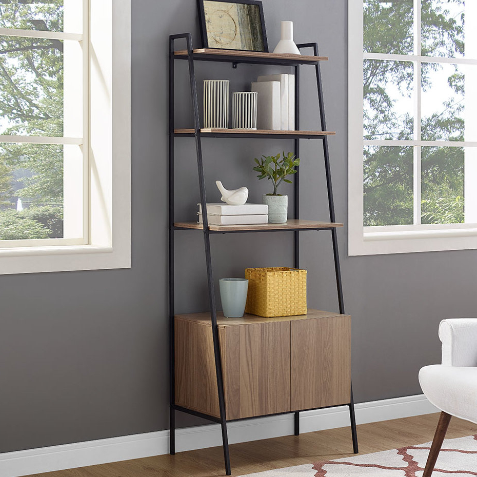 Widely Used Caldwell Ladder Bookcase For Caldwell Etagere Bookcases (View 18 of 20)