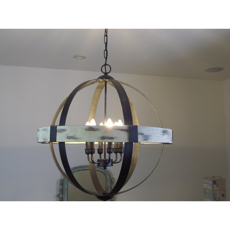 Widely Used Cannella 6 Light Globe Chandelier Regarding Donna 6 Light Globe Chandeliers (View 25 of 25)