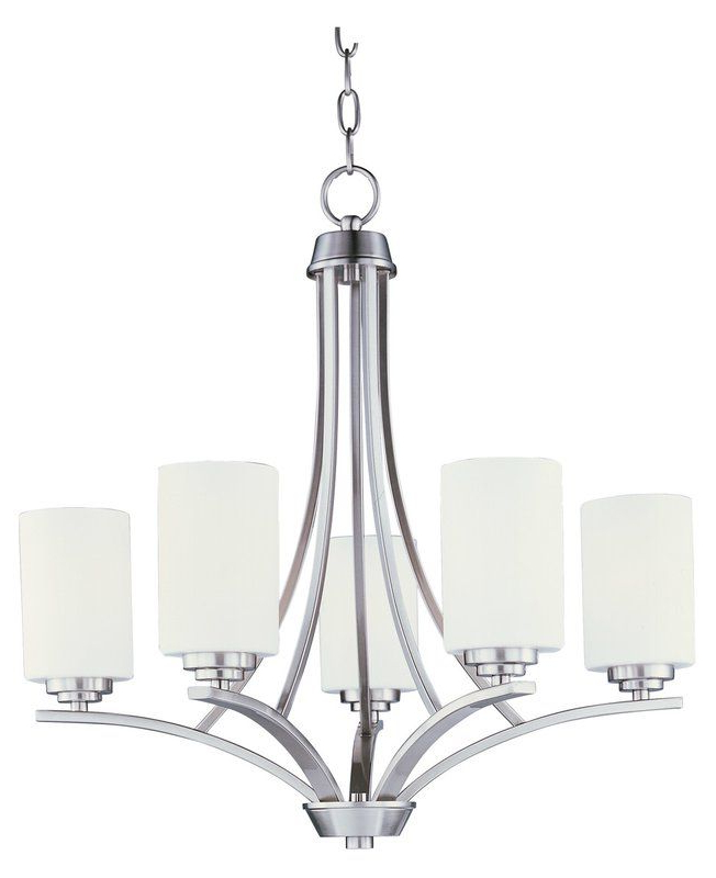 Widely Used Crofoot 5 Light Shaded Chandeliers With Regard To Bainsby 5 Light Shaded Chandelier (View 25 of 25)