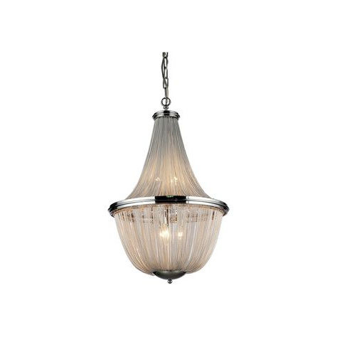 Widely Used Duron 5 Light Empire Chandeliers Within Tilden Wood Bead 5 Light Empire Chandelier (View 25 of 25)
