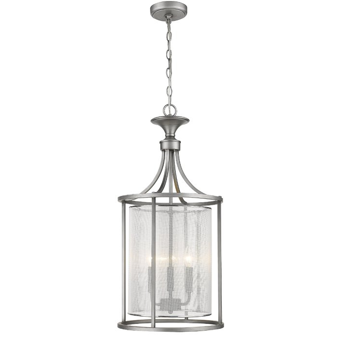 Widely Used Fleeton 3 Light Lantern Pendant Intended For Gabriella 3 Light Lantern Chandeliers (View 24 of 25)