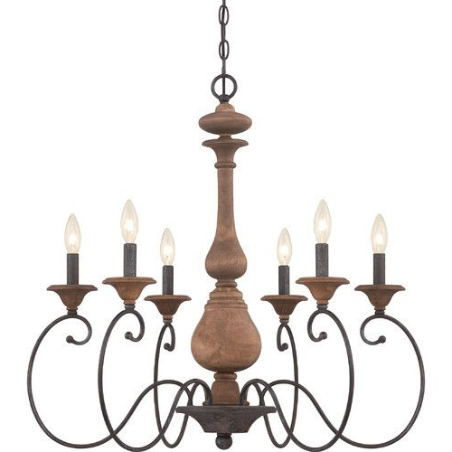 Widely Used Found It At Joss & Main – Kennedy 6 Light Candle Chandelier Intended For Perseus 6 Light Candle Style Chandeliers (View 25 of 25)