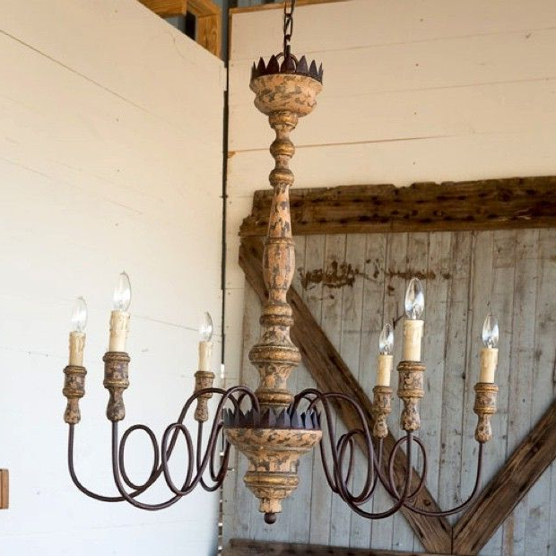 Widely Used Gaines 5 Light Shaded Chandeliers Throughout Favorite Light Fixtures For Fixer Upper Style (View 25 of 25)