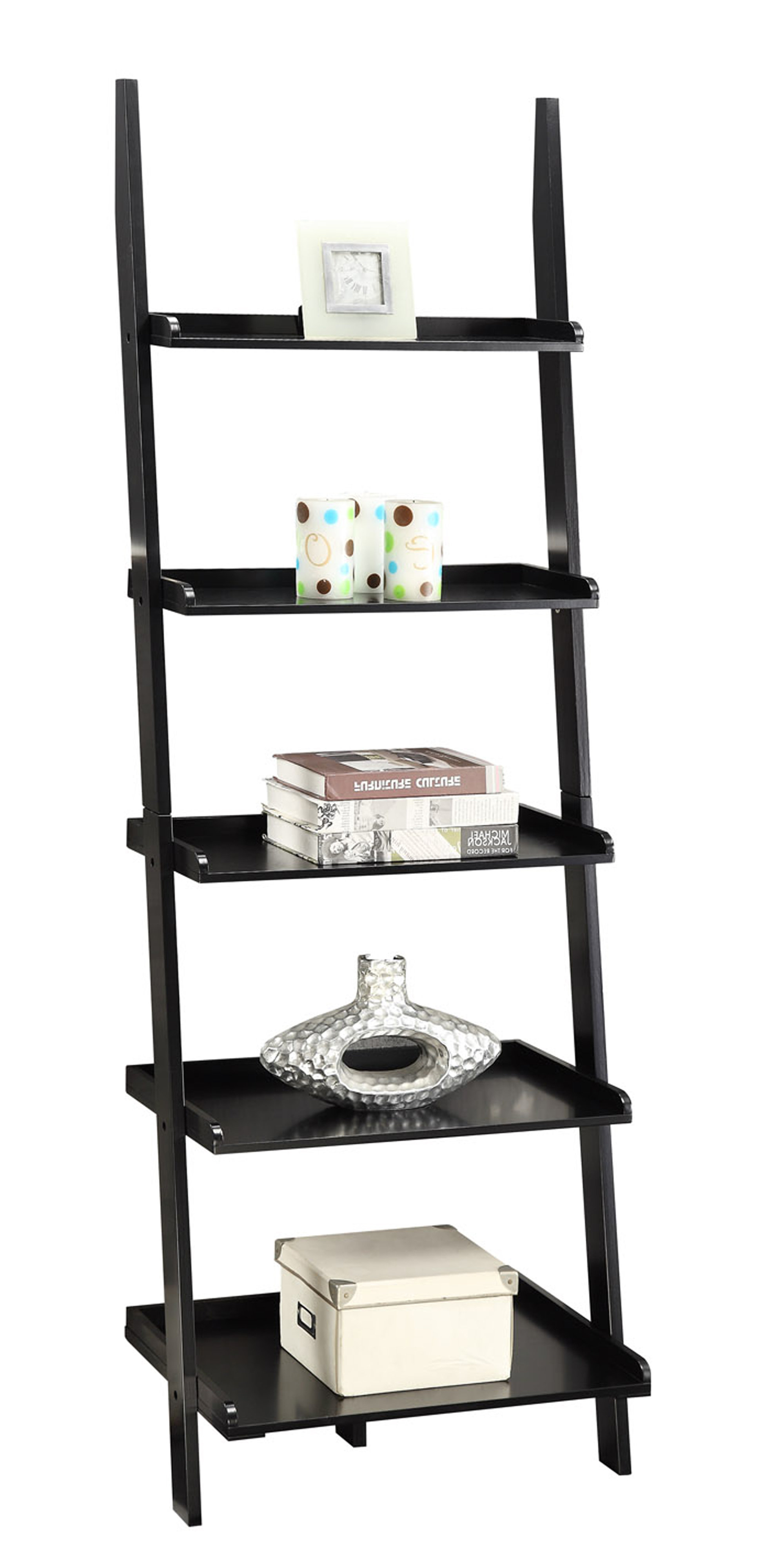 Widely Used Gilliard Ladder Bookcase Regarding Gilliard Ladder Bookcases (View 11 of 20)