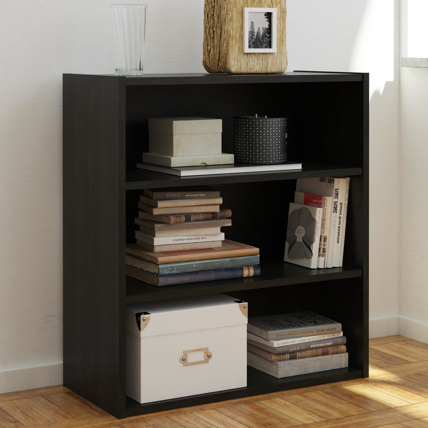 Widely Used Herrin 2 Tier Standard Bookcases In Rialto Standard Bookcase (View 20 of 20)