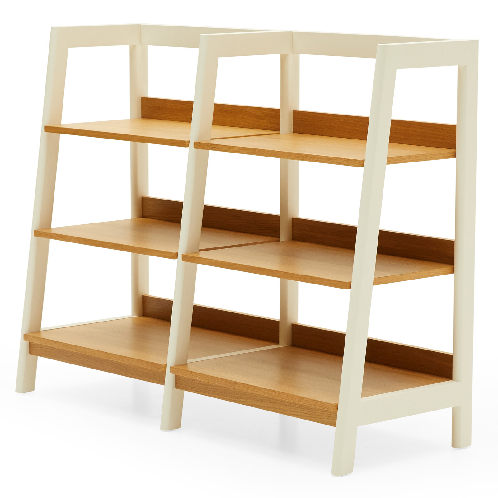 Widely Used Modrn Scandinavian Finna Wide Ladder Bookcase Inside Wide Ladder Bookcases (View 19 of 20)