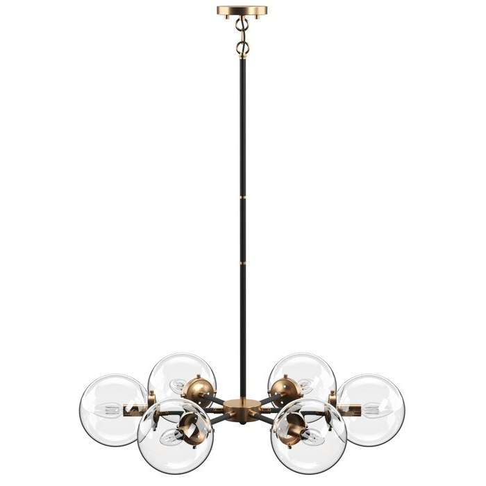 Widely Used Silvia 6 Light Sputnik Chandeliers With Regard To Shontelle 6 Light Sputnik Chandelier (View 25 of 25)