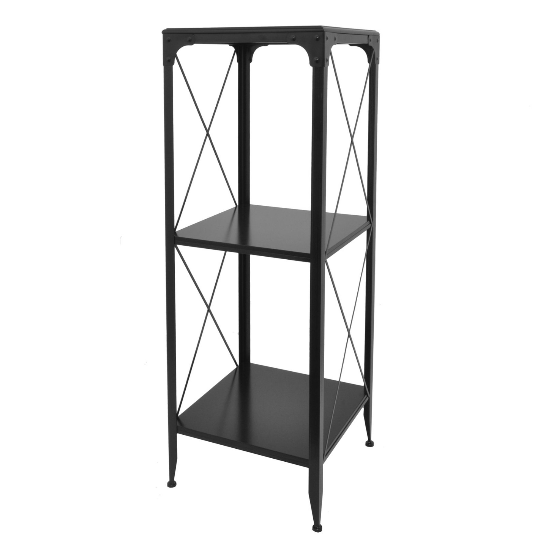 Widely Used Three Hands Contemporary Metal And Wood Shelving Unit In Ebba Etagere Bookcases (View 18 of 20)