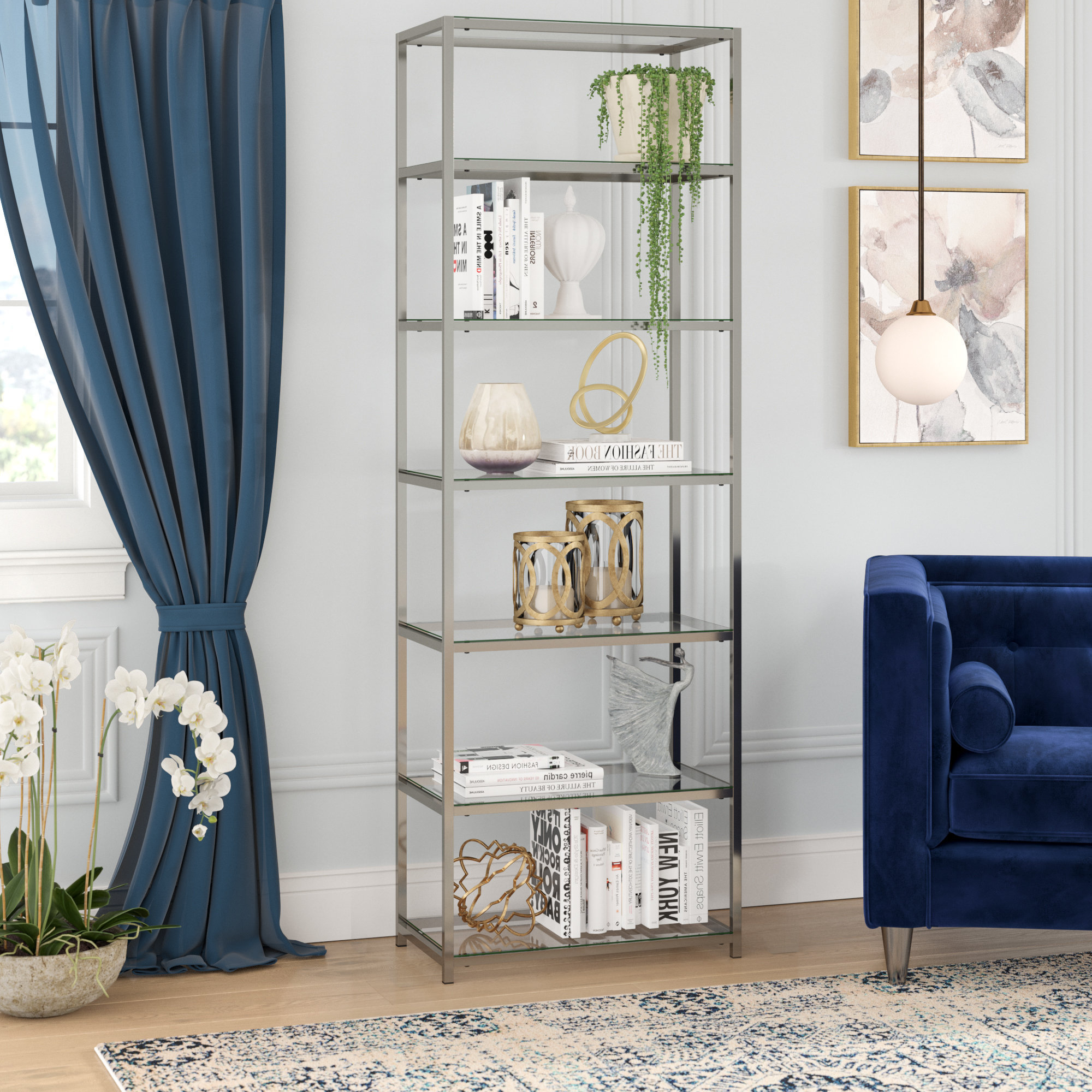 Willa Arlo Interiors Emely Etagere Bookcase & Reviews Intended For Well Known Buchanan Etagere Bookcases (View 20 of 20)