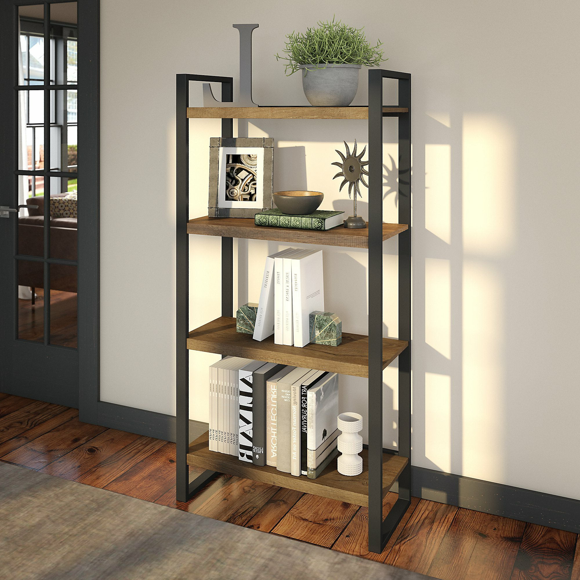 Xanthe Standard Bookcases With Regard To Well Liked Access Bookcase (Gallery 13 of 20)